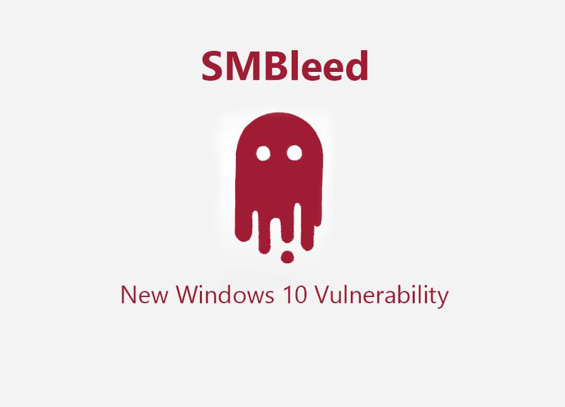SMBleed New Critical Windows 10 Vulnerability